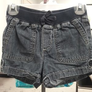 Girls sz 6 The Childrens Place jean shorts